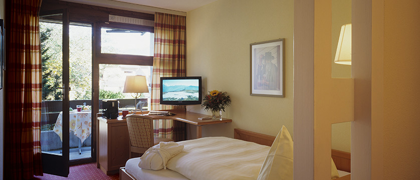 Hotel Eiger, Grindelwald, Bernese Oberland, Switzerland - single bedroom.jpg